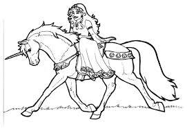 Disegno Da Colorare Principessa Di Shamrock Su Unicorno Cat 7136