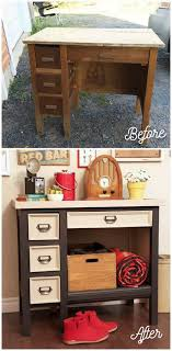 furniture makeover ideas. Old Desk Makeover With Voice Of Color Furniture Ideas