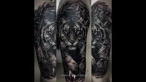 тигр картинки тату