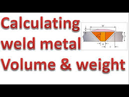 Calculating Piping Weld Metal Volume And Weight V Butt Weld Joints