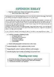Opinion Essay Samples How To Write Opinion Essay Worksheet How To Write A Good Opinion