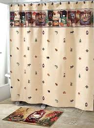 outdoors camping trip cabin theme bathroom accessories