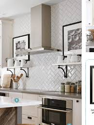 remarkable kitchen backsplash subway tile. Superior Beveled Tiles Kitchen Herringbone Pattern Subway Get In The Pinterest Remarkable Backsplash Tile S
