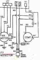 electric motor capacitor test procedures Single Phase Capacitor Motor Wiring Diagrams start or run capacitor diagnostic checks how to use a vom or multimeter to test a motor starting capacitor wiring diagram
