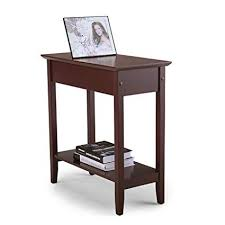 Wooden chair side Hardwood Dining Image Unavailable Amazoncom Amazoncom Flip Top End Table Chair Side Table Coffee Sofa Wooden