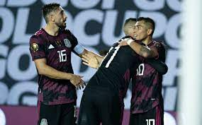 Mexico vs Guatemala. Goals and result ...