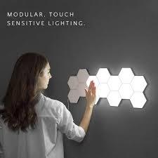 Magic Living Led Push Light Quantum Lamp Led Hexagonal Lamps Modular Touch Sensitive