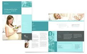Word Church Program Template Christian Brochure Publisher