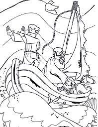 Kleurennu Jezus In Een Storm Op Het Meer Van Galilea Kleurplaten