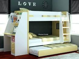 Bed And Desk Combo Desk Bed Combo Loft Bed Combo W 4 Doors