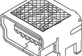 mini usb connectors rs components molex 51387 series number smt version 2 0 type