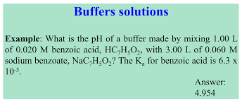 Solved Buffers Solutions Example What Is The Ph Of A Buf