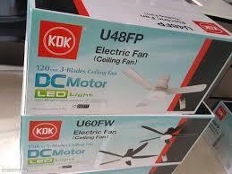 review of kdk ceiling fan part ii