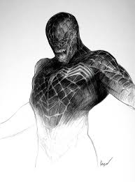 Some newly revealed concept art for venom shows off some amazing alternate designs for eddie brock's symbiote, and a few of them really are the stuff of nightmares! Daily Raimi Spider Man On Twitter Spider Man 3 2007 Venom Concept Art By E J Krisor