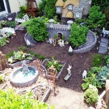 Fairy Garden Designs With Outdoor Fairy Garden And Some Miniature Fairy  Garden And Grass