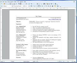 Resume Templates For Openoffice – Rekomend.me