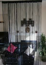 shocking black string curtain panel divider and room for beaded window trend jcpenney ideas beaded window