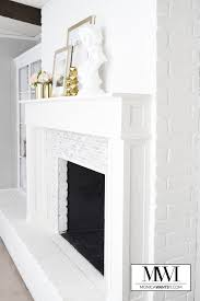 this is a diy before and after fireplace makeover that is a must see the