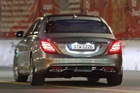 Spyshots: 2014 Mercedes S-Class Totally Undisguised - autoevolution