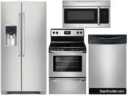 Kitchen Packages Appliances Kitchen 4 Piece Stainless Steel Kitchen Appliance Package 00018