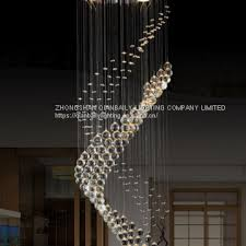 made in china k9 crystal chandelier led pendant lamp used home 6069