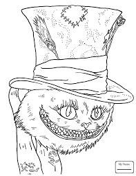 Small Picture coloring pages for kids Mad Hatter and the Queen alice in