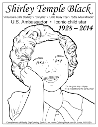 Small Picture Coloring Books Shirley Temple Black Free Coloring Page