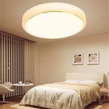 Light Bedroom 18w Natural Warm White Round Led Flush Mounted Ceiling Down Light