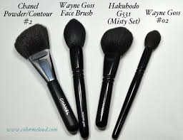 wayne goss limited edition brush vs chanel 2 wayne goss 02 hakuhodo g531