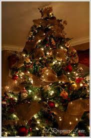 burlap xmas tree omg creo q ya encontre mi perfect xmas tree xD