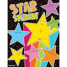 Motivational Charts For School Star Student Chart