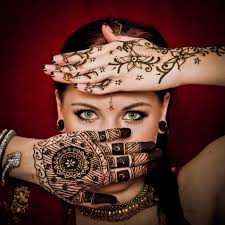 изысканная красота татуировок хной