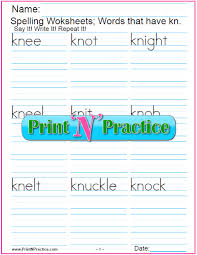Phonics helps students learn to identify relationships between words and sounds. 44 Phonics Worksheets Practice Phonics Words Copywork