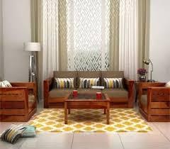 living room furniture. Fabric Sofa Sets 32+ Options Wooden Living Room Furniture E