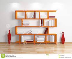 modern bookshelf stock photos  image