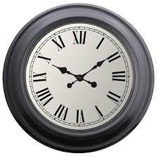 decor round roman wall clock 52cm