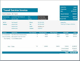Travel Bill Template Nw Designs 53183722955 Travel Bill