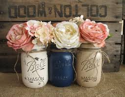 Decorated Mason Jars For Sale SALE Set of 100 Pint Mason Jars Painted Mason Jars Rustic 61