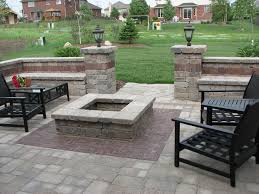 Concrete patio with square fire pit Wood Burning Fire Pit Kit Patio Traditional With Fire Pit Fire Pit2 Beeyoutifullifecom Firepitkitpatiocontemporarywithconcretefirefirepit