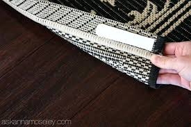 how to keep a rug from slipping ask how to keep rugs from slipping on carpet