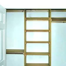 shelves in a closet hanging homemade how to build wood diy shelf clo