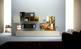 Living Room Wall Unit Contemporary Living Room Wall Unit Lacquered Wood B104 Md House