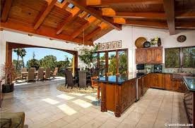 Tropical Kitchen Design Awesome Decoration