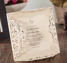 wedding invitation cards with rsvp cards amazon com Amazon Laser Cut Wedding Invitation wishmade 100x laser cut lace invitations cards kit with matched thank you card and rsvp card for wedding party birthday occasion cw6109 Laser-Cut Wedding Invitation Template