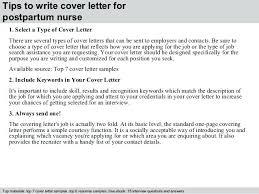 postpartum nurse resume 3 tips to write cover letter for postpartum nurse  postpartum nurse job description