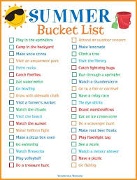 What To Do In Summer Family Fun Kit
