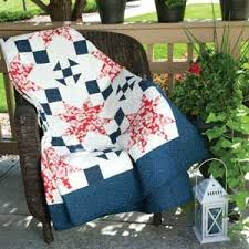 Cottage Charm: Patriotic Extra-Long Twin Quilt Pattern | Pins ... & Patriotic quilt patterns are among the most popular designs we publish.  There's something so perfect about red, white, and blue quilts with that  Americana ... Adamdwight.com