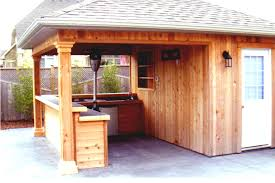 Backyard Bar Shed Ideas GoodHomezcom