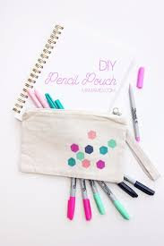 diy school supplies you need for back to school diy pencil pouch cuter