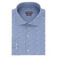 Mens Van Heusen Traveler Slim Fit 4 Way Stretch Dress Shirt